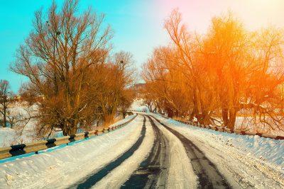 conducir de forma segura en invierno